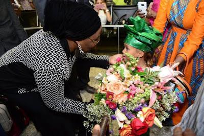 Aisha Buhari  Visits America2
