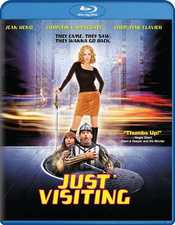 Poster Of Just Visiting 2001 Dual Audio 130MB BRRip HEVC Mobile Free Download Watch Online Worldfree4u