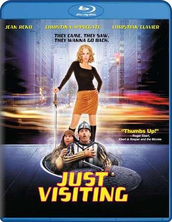 Poster Of Just Visiting 2001 Dual Audio 720p BRRip [Hindi - English] Free Download Watch Online Worldfree4u