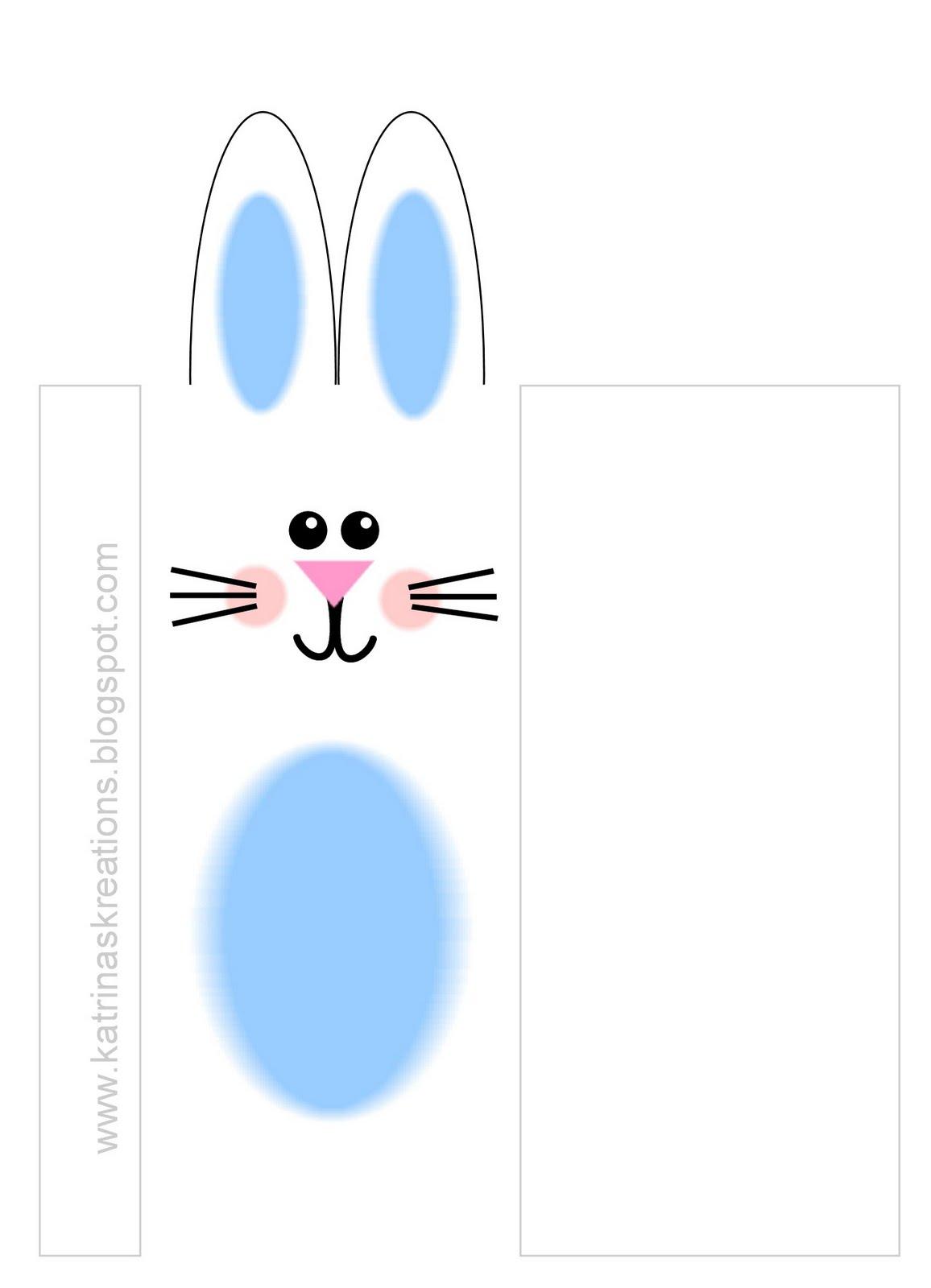 Katrina S Kreations Blue Bunny Wrappers