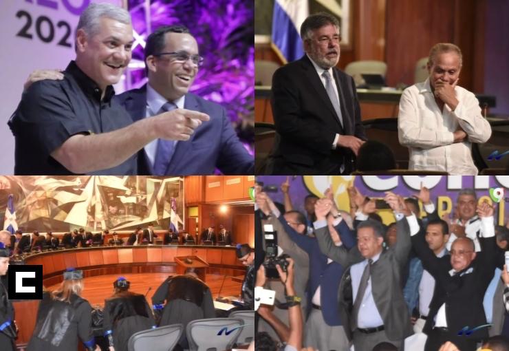 Fotocrónica con Franklin Guerrero: Encuesta en el PLD, Odebrecht, Gonzalo Castillo, Leonel y más