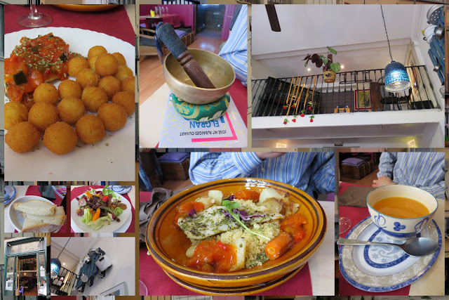 Menu del dia at El Pati de La Veïna in Girona in Costa Brava