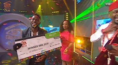 Miracle emerges winner of Big Brother Naija 2018