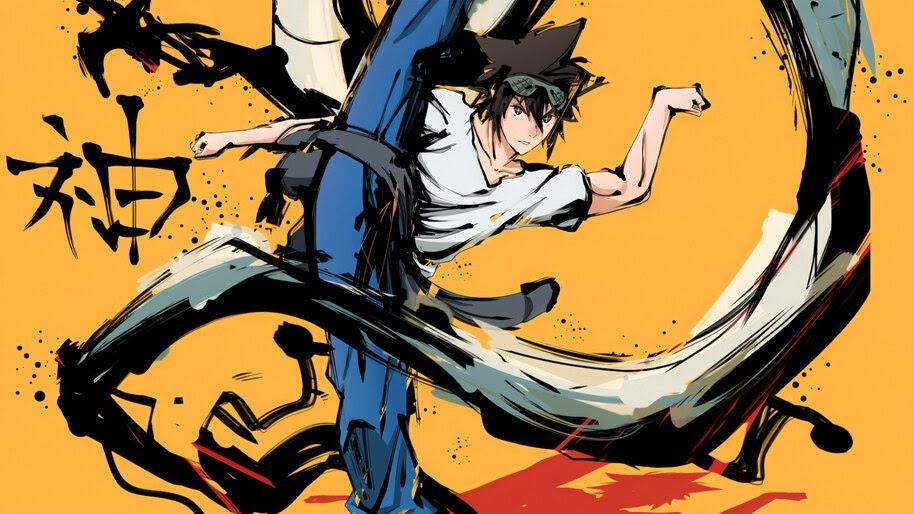 Jin Mori, God of High School, Anime, 4K, #5.2531