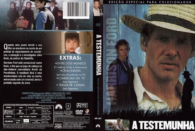 Capa DVD A Testemunha [Edição Especial Para Colecionador]