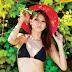 Angelia Wiberia Model Majalah Popular Bikini