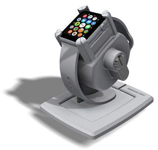智慧手錶防盜,智慧手錶防盜鎖立架,手錶展示防盜