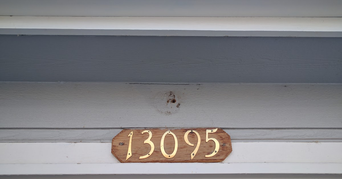 Bees Nest Street Address And Front Entry Lights