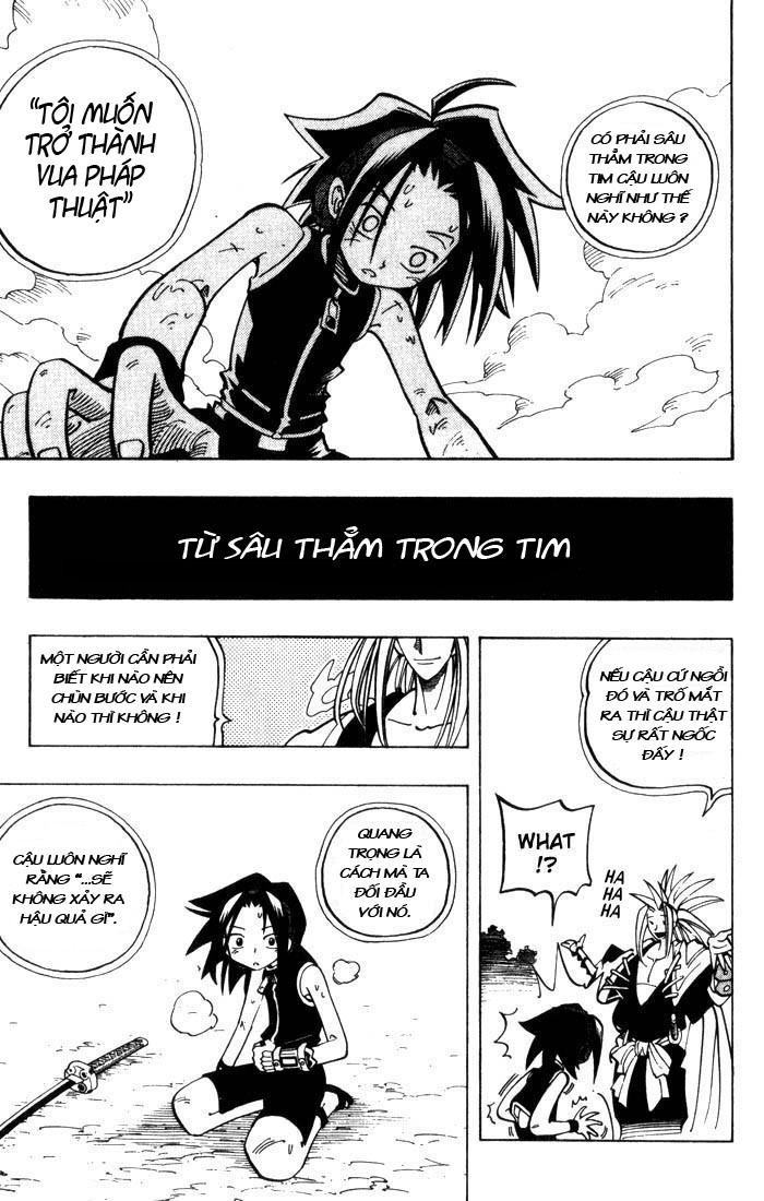 Shaman King [Vua pháp thuật] chap 46 trang 9