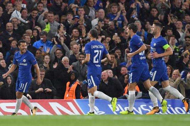 Hasil Liga Champions Grup C, Chelsea Pesta Gol