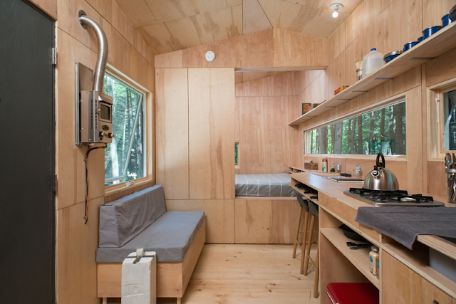 Lorraine tiny house at Getaway