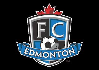 FC Edmonton Professional Soccer Logo Vector