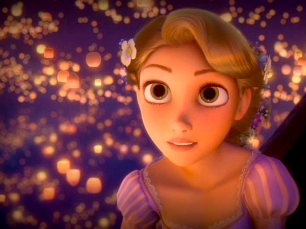 Facebook lovers cartoon facebook d p - Rapunzel wallpaper ...