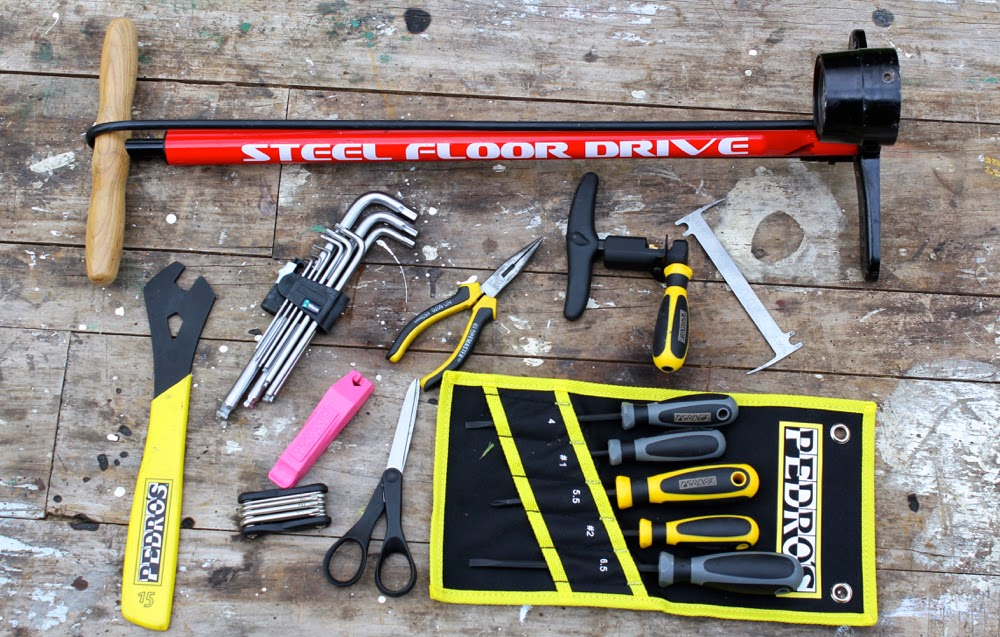 Home Workshop Essential Bike Tool Kit