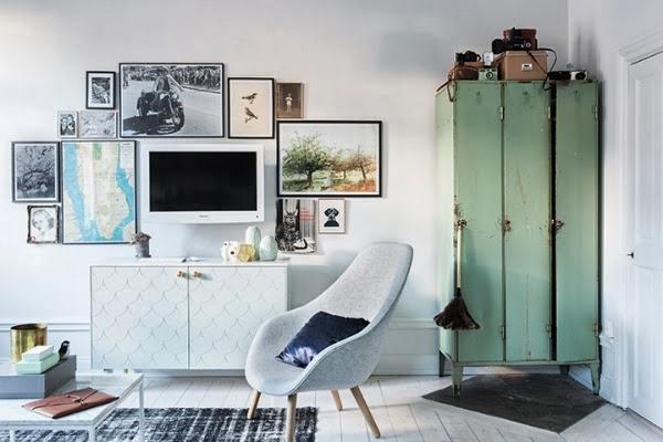 decorar la televisión con cuadros