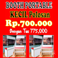 Booth-Portable-Es-Kepal-Milo