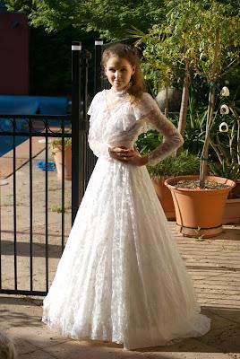 Kristy - Mum's Wedding Dress