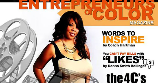 Have you seen the July issue of Entrepreneurs of Color Magazine?