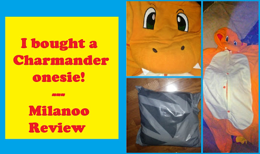 I bought a Charmander Onesie! - Milanoo Review