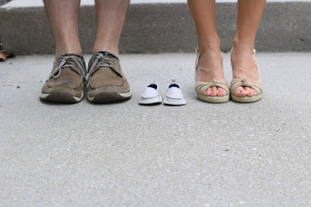 Shoes Pregnancy Announcement