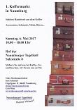 1. Naumburger Koffermarkt am 06.05.2017