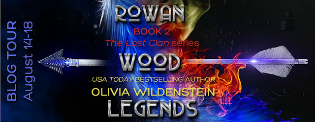 Rowan Wood Legends by Olivia Wildenstein a book review on Reading List