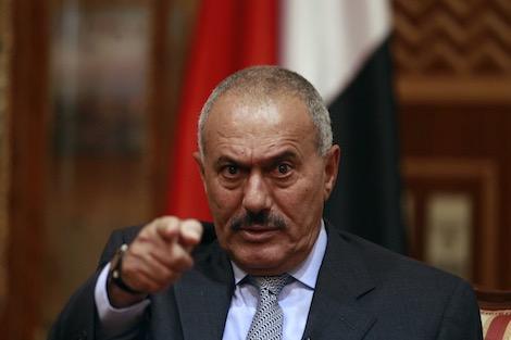"""صالح يبدي استعداده لفك تحالفه مع """"الحوثيين"""""""