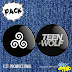 Kit de bottons - Teen Wolf