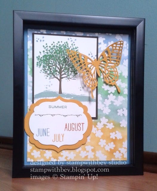 3-D Seasonal Shadow Box -- WCC30