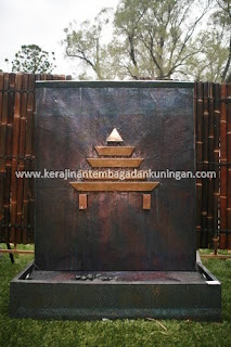 Kerajinan Air Mancur / Fountain Tembaga Kuningan