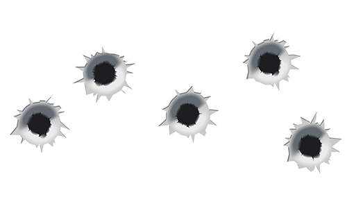 Bullet Holes in Chat Box | Symbols & Emoticons