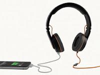 OnBeat Solar Headphone, Isi Baterai Ponsel Sambil Dengarkan Musik