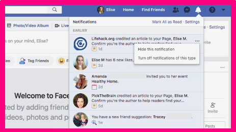 How To Delete Notification On Facebook