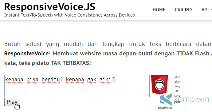 text to speech di pc laptop gratis