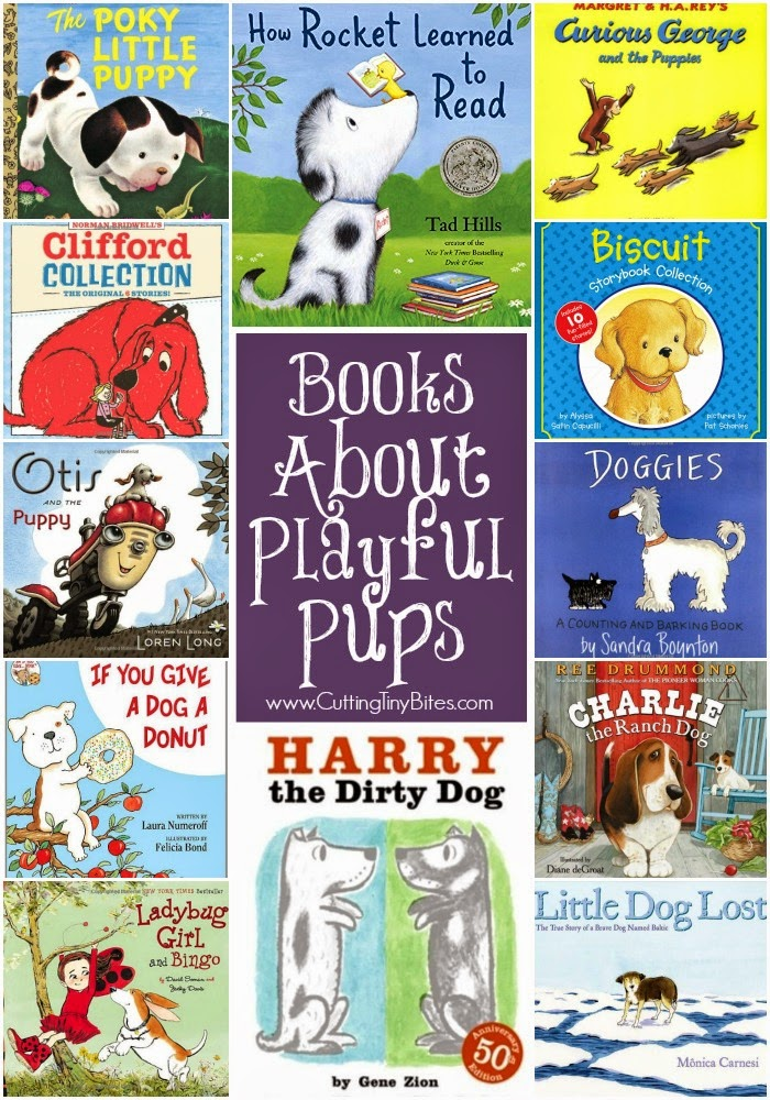 Children's books about dogs. Book recommendations and reviews. Choices for toddlers, preschoolers, and older children.