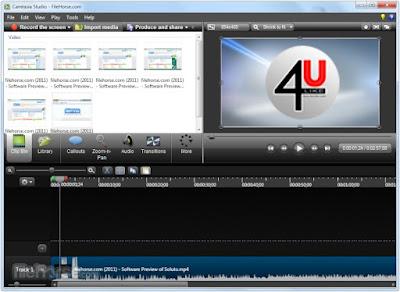 بالفيديو: طريقة تفعيل برنامج Camtasia Studio 8 مدى الحياة بدون كراك او فيروسات  Camtas10