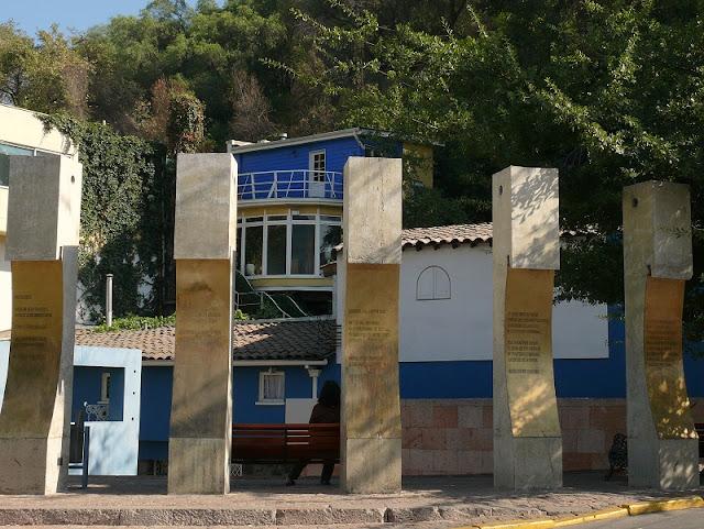 Casa La Chascona de Pablo Neruda em Santiago do Chile