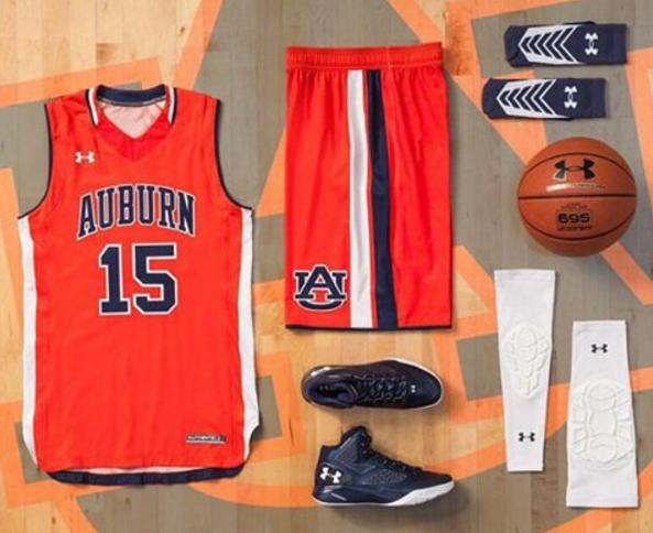 online store ea49d 40623 Auburn Uniform Database: New Auburn Basketball Uniforms