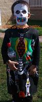 disfraz esqueleto infantil; patrones originales para coser