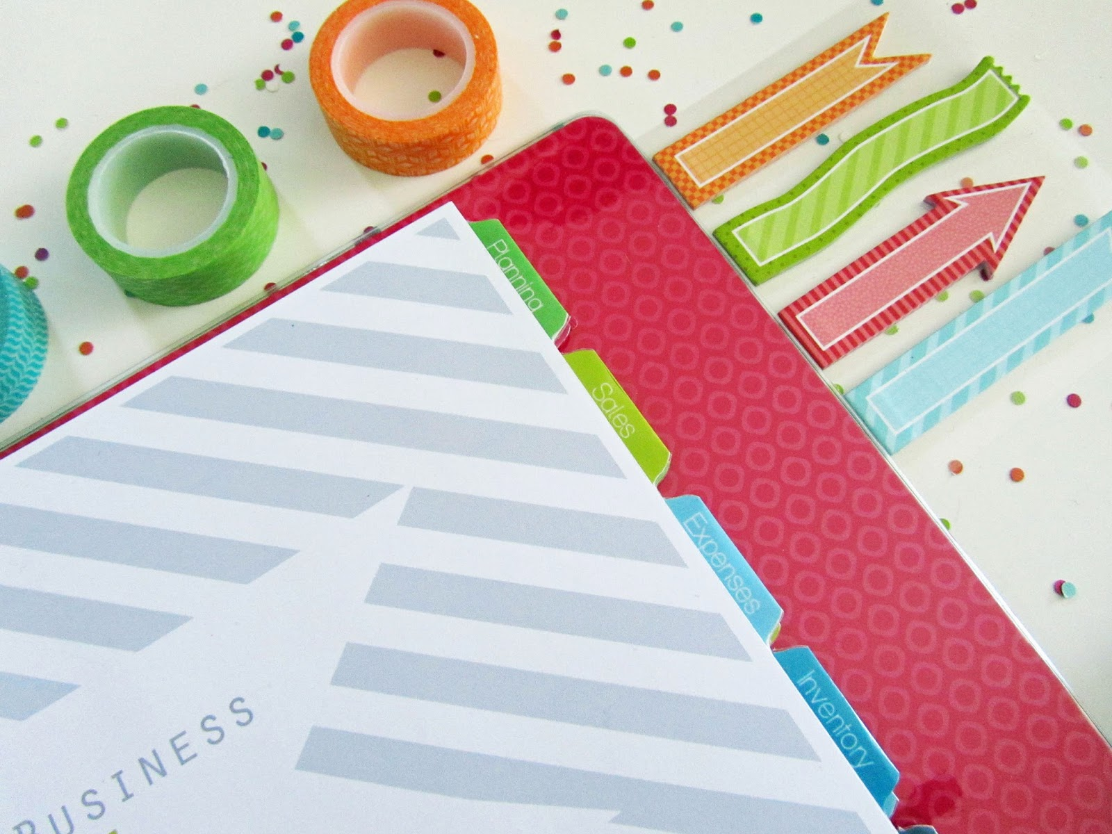 Clean life and home free printable divider tabs pages for Create planner online