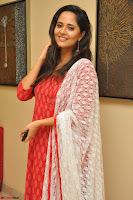 Anusuya in Red at Kalamandir Foundation 7th anniversary Celebrations ~  Actress Galleries 052.JPG