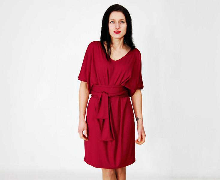 letnia sukienka kopertowa Collibri, co nosić latem, najmodniejsze sukienki na lato