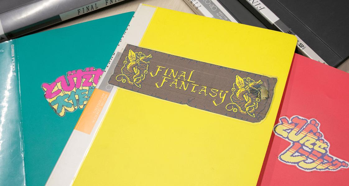 Comparten bocetos del primer Final Fantasy