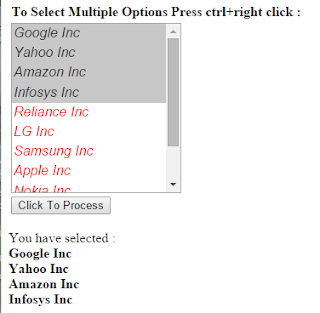 Get select option and radio button value in php