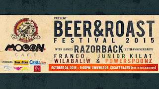 Beer and Roast Festival 2015 in Mandaue City, Cebu, Philippines