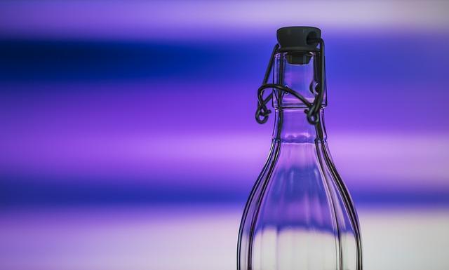 L'acqua minerale in bottiglia