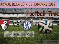 Jadwal Sepakbola 30 - 31 Januari 2019