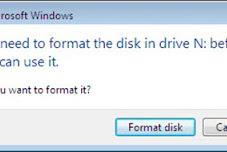 Cara Mengatasi dan Format Flashdisk Rusak Yang Tidak Terbaca