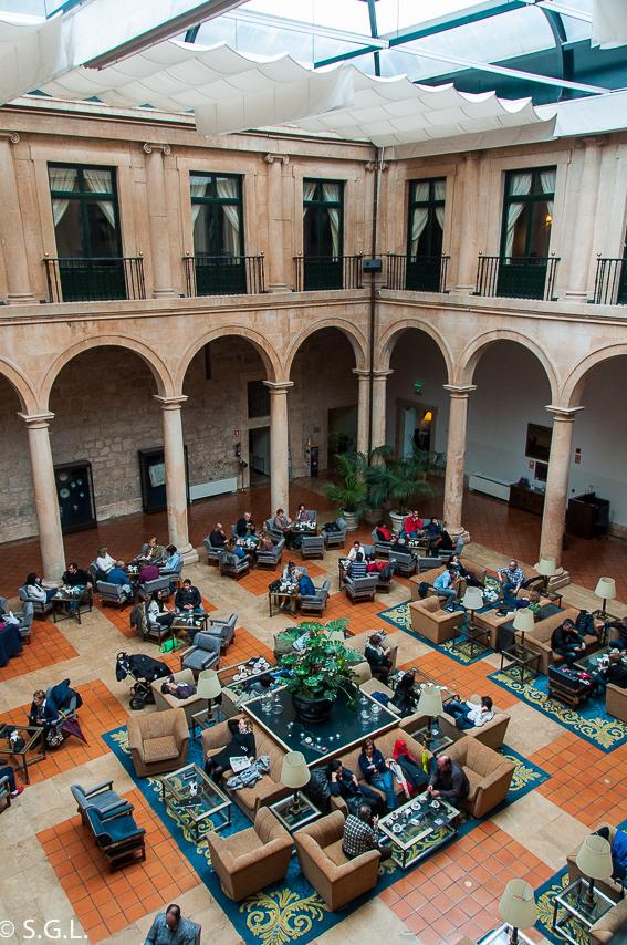 Parador de Lerma, patio interior. Palacio Duque de Lerma