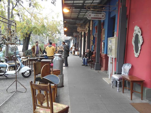 Anticuarios Barrio Italia Santiago Chile